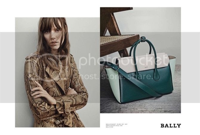 Bally SS15 campaign