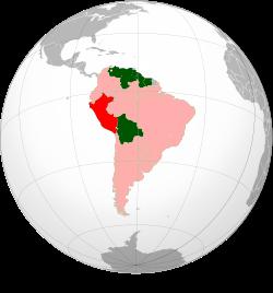 Situación de Unión de Naciones Suramericanas