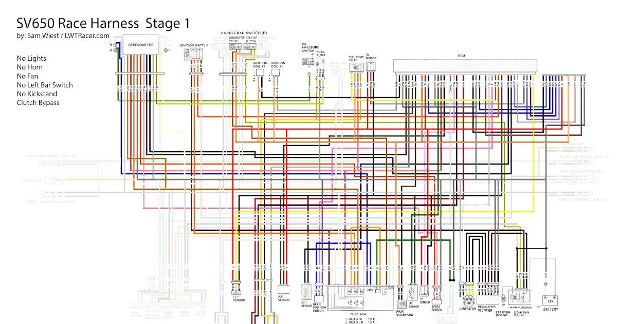 Wiring Diagram Zx6r 2003