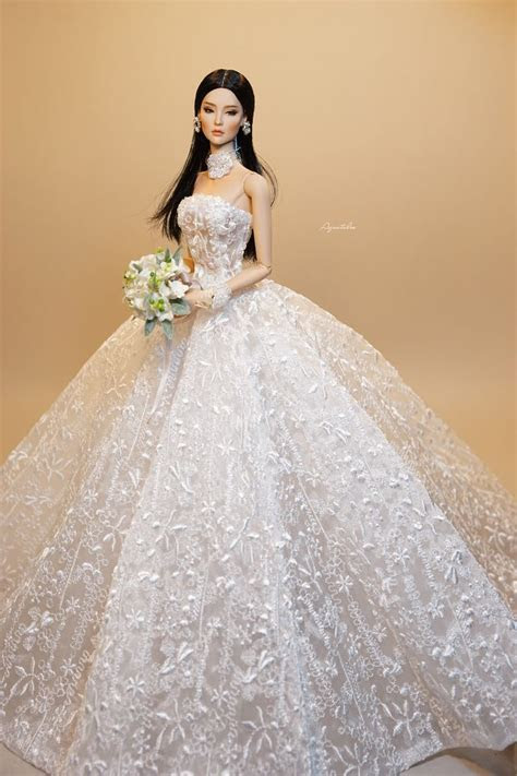 2105 best Wedding dresses for dolls. images on Pinterest