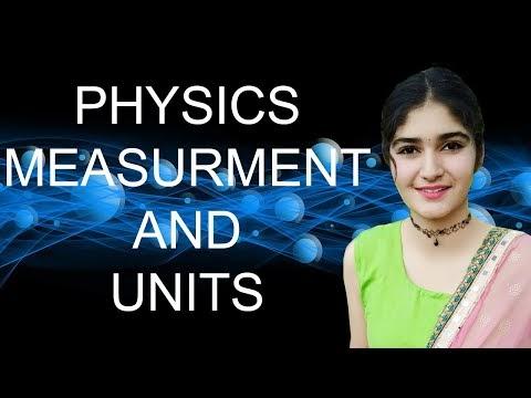 Measurement And Units | Physics | 2020