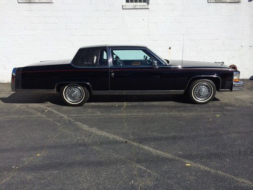 Buy used 1984 CADILLAC FLEETWOOD BROUGHAM COUPE in Edison ...