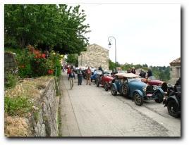 le tour de Corse en Bugatti, juin 2007