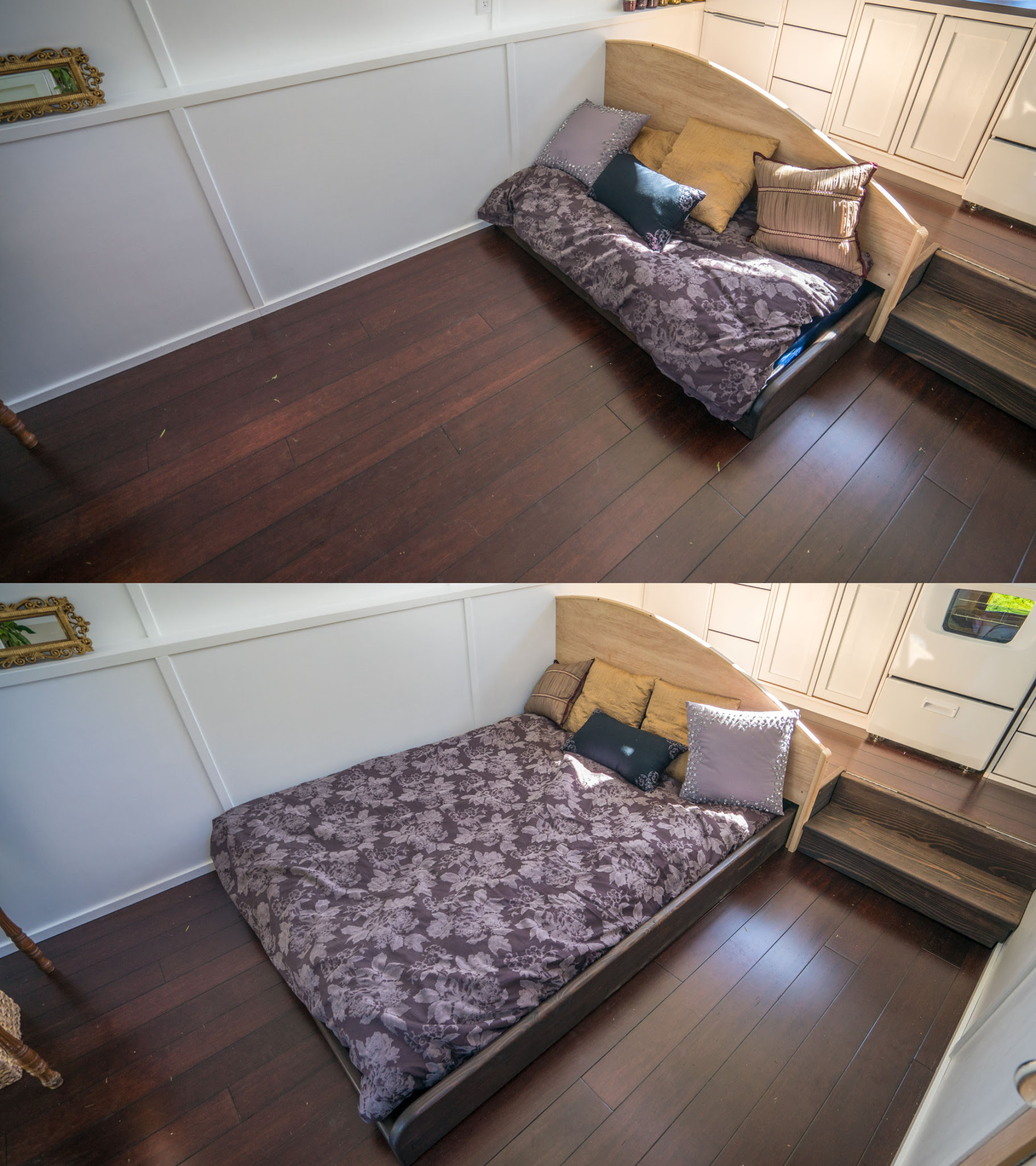 DewDrop Tiny House Pull Out Bed 0002 Tiny House Giant