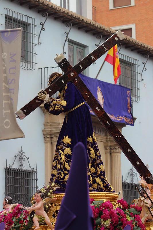 Procesión de Viernes Santo en Murcia