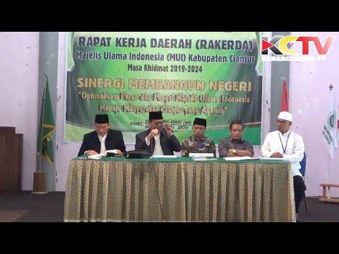 KABARCIANJUR.TV | MUI Cianjur Gelar Rakerda 2019-2024