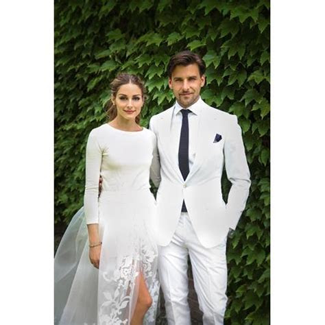 Olivia Palermo weds Johannes Huebl in Carolina Herrera   ELLE