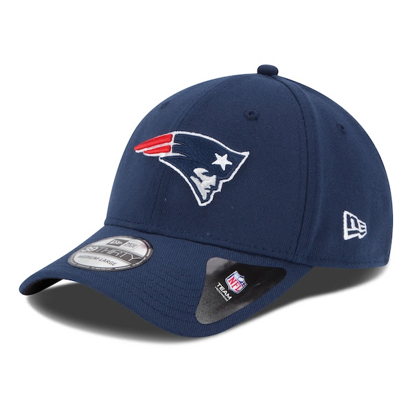 Mens New England Patriots New Era Navy 39THIRTY Team Classic Flex Hat  NFLShop.com