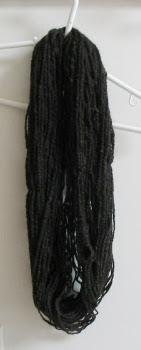 Balanced skein after washing.
