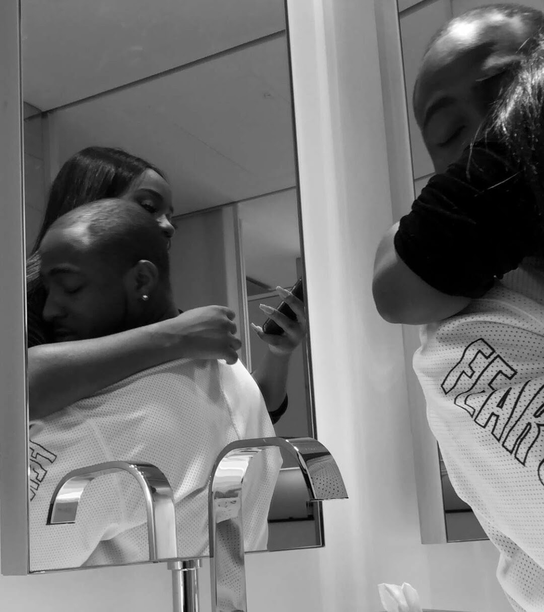 New loved up photos of Davido and his girlfriend, Chioma after his concert in London