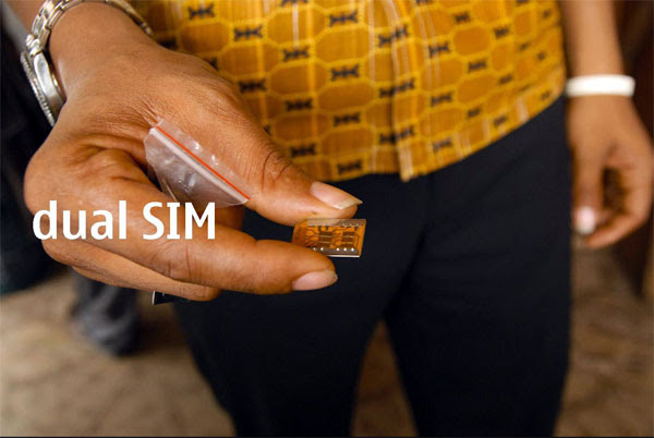 Dual SIM card in Accra, Ghana