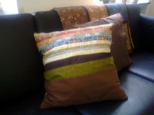 Morris Workshop Pillows - back