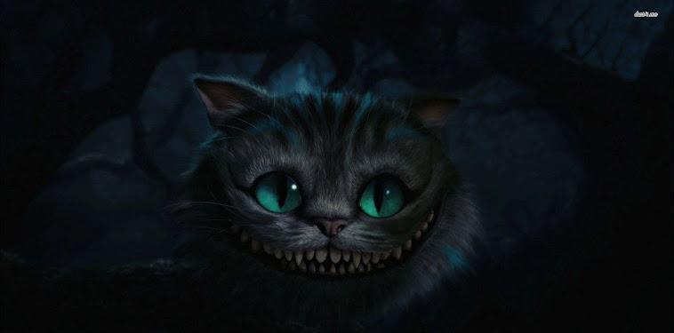 Cheshire Cat Wallpaper