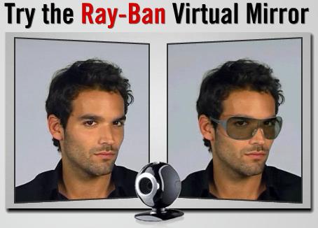 Ray-Ban Virtual Mirror