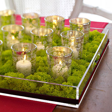 Votive Candle Display
