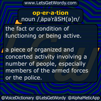 operation 07/16/2015 GFX Definition