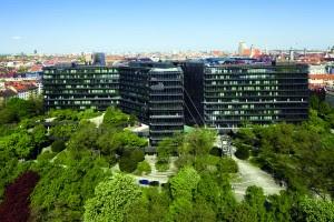 The EPO buildings, Munich