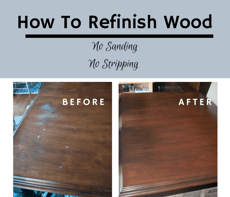 Can You Refinish Furniture Without Stripping It ...