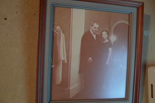 Anna's great grandma with Giorgio Armani