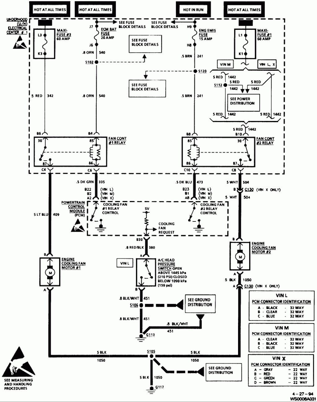 1993 Oldsmobile Cutlas Ciera Wiring Diagram - Wiring ...