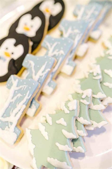 Kara's Party Ideas Arctic Animal Birthday Party   Kara's