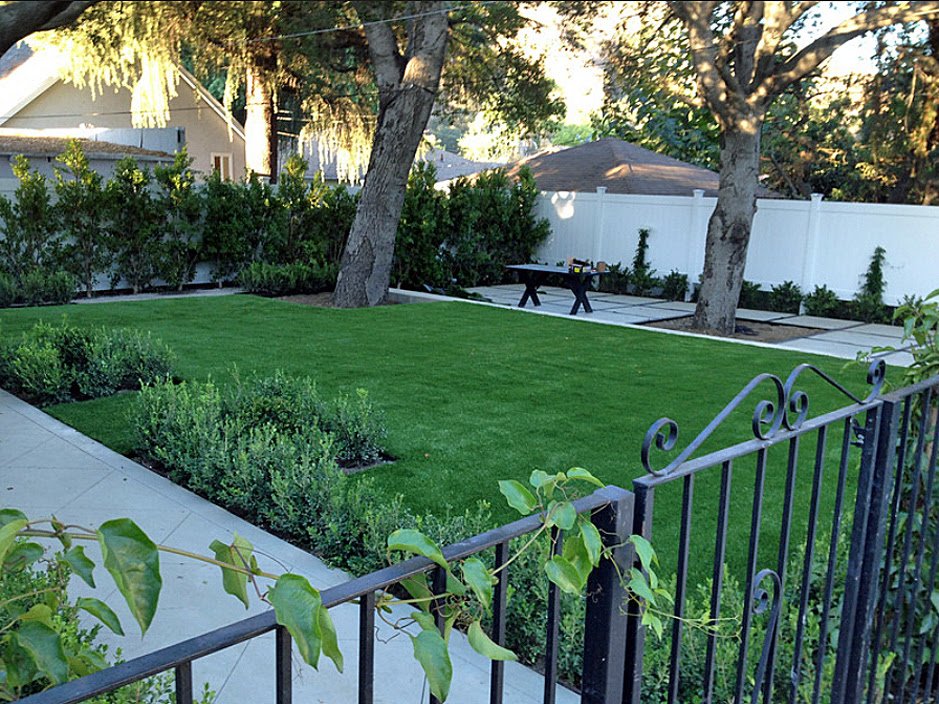 Fake Turf Yucca Valley California Lawn And Garden Front Yard Design