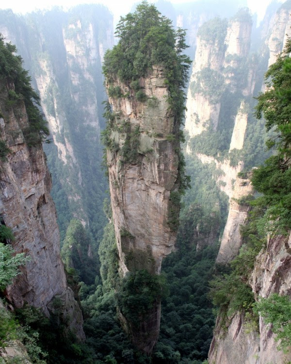 Montaña Tianzi, China