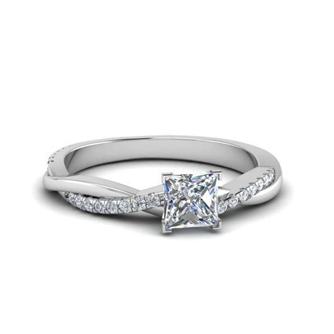 Princess Cut Engagement Rings  Fascinating Diamonds