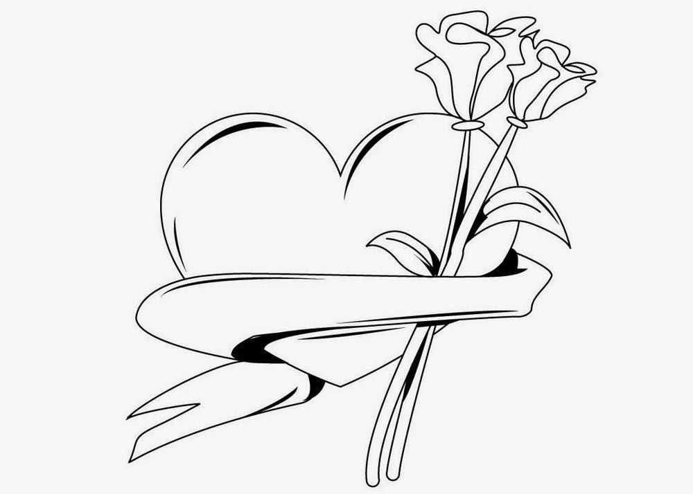 58 Imágenes Del 14 De Febrero Para Dibujar Dibujo Para Imprimir