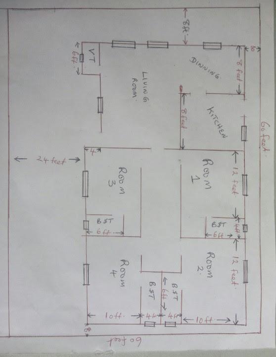 4 Bedroom Flat On Half Plot Of Land. - Properties - Nigeria