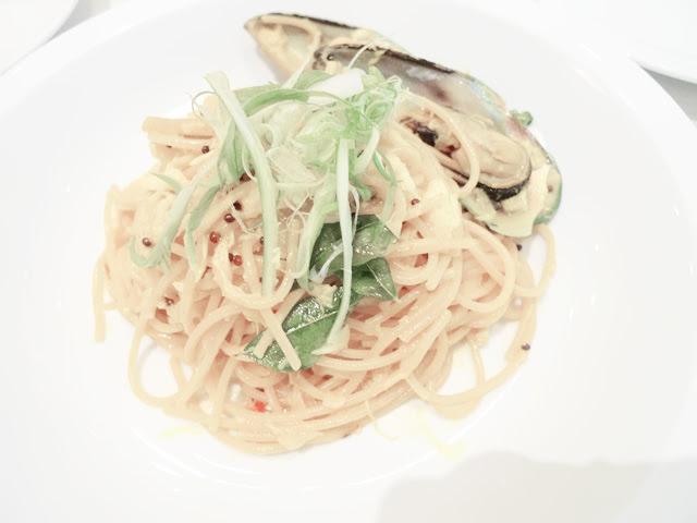 golden crab pasta