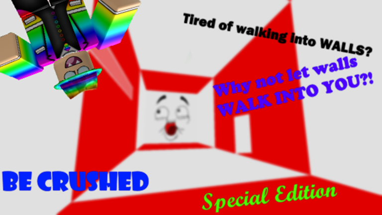 Be Crushed Remastered Classic 2009 Roblox Go - roblox game creator id in roblox red wall