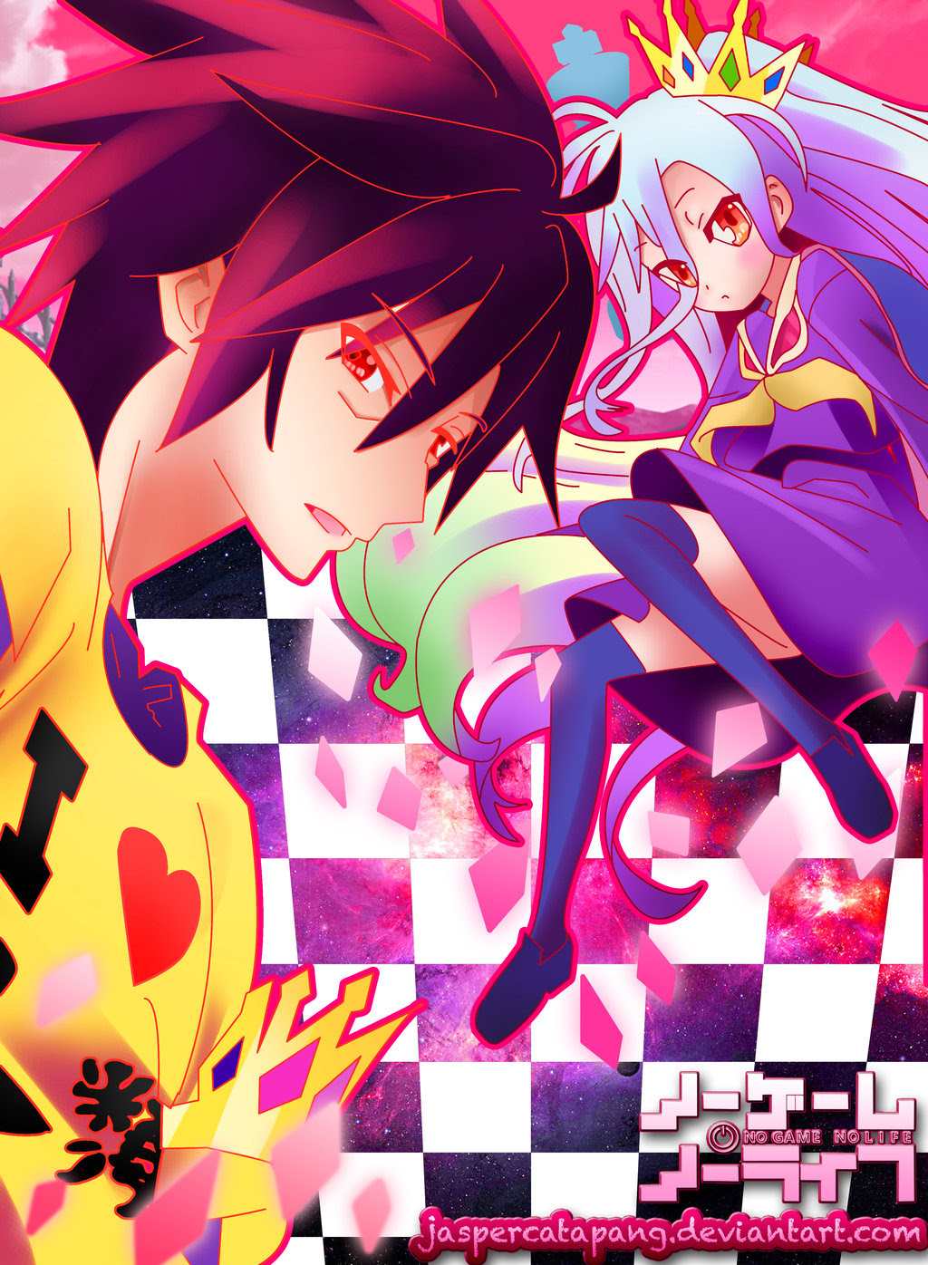 No Game No Life Hd Wallpapers Backgrounds Wallpaper 1024x1396