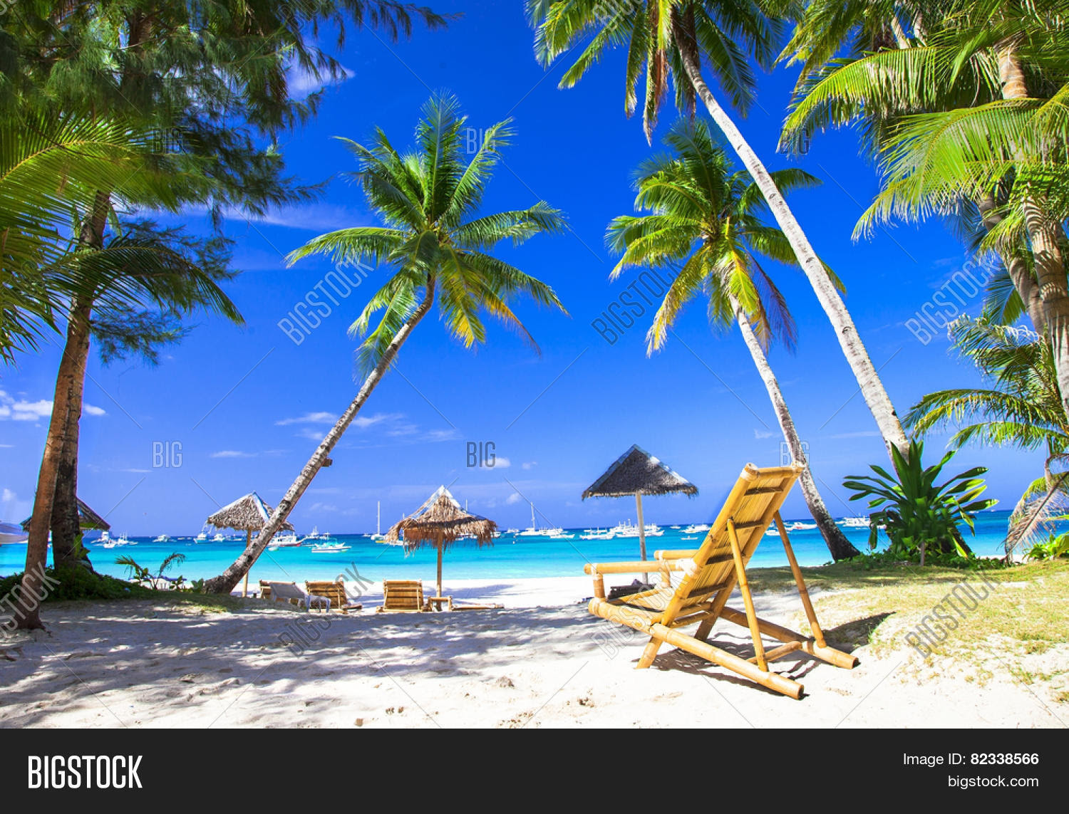 tropical holidays in paradise island Stock Photo  Stock
