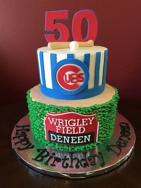 Best 25  Chicago cubs cake ideas on Pinterest