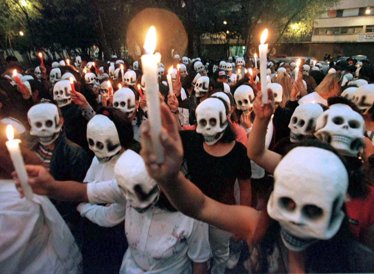 Image result for day of dead parade