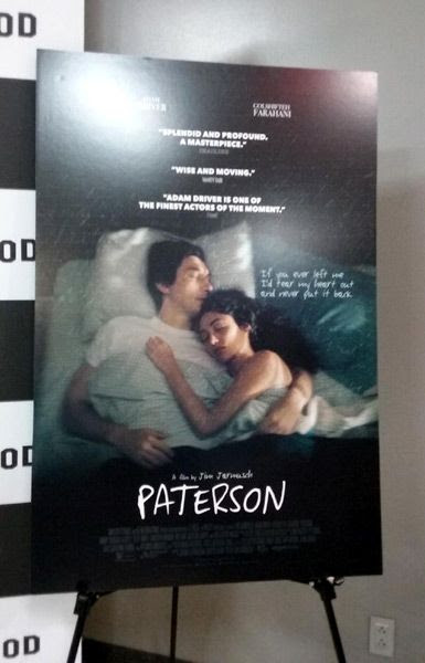 At a Q&A screening for PATERSON at Landmark Theatres in west Los Angeles...on November 14, 2016.
