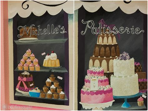 Gold and Pink Wedding Cakes from Michelle?s Patisserie