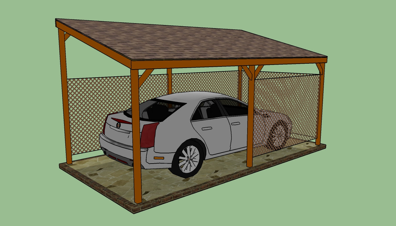 How to build a wooden carport   HowToSpecialist - How to ...