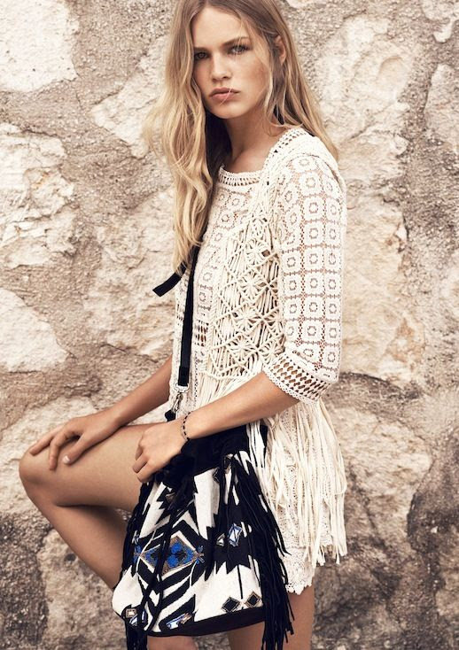 5 Le Fashion Blog Mango Summer 2015 Lookbook Anna Ewers Crochet Top Fringe Vest Ethnic Bucket Bag photo 5-Le-Fashion-Blog-Mango-Summer-2015-Lookbook-Anna-Ewers-Crochet-Top-Fringe-Vest-Ethnic-Bucket-Bag.jpg