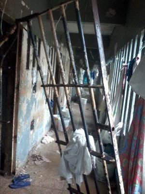 Detentos quebraram grades no presídio Raimundo Nonato (Foto: Divulgação/PM)