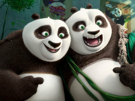 """Kung Fu Panda 3"": Father/son portrait"