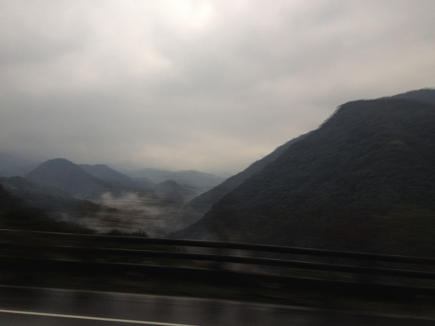 Mountains Near Taipei