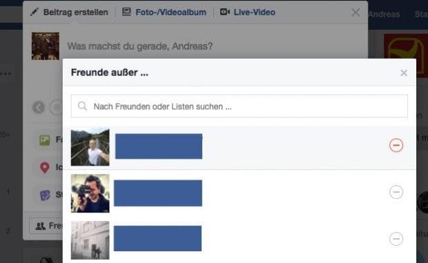 Freunde Anzeigen Facebook