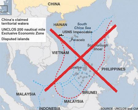 Philippines, Hoàng Sa, chủ quyền, đường lưỡi bò, bản đồ cổ