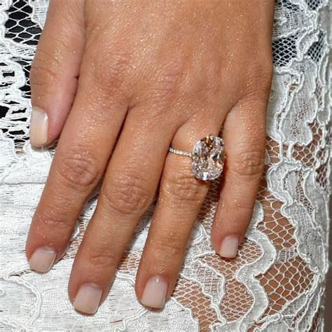 Kim Kardashian Engagement Ring Kanye West 17   Traditional
