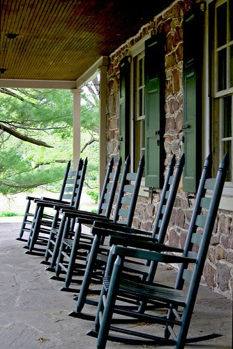 Rocking Chairs at Historic Poole Forge