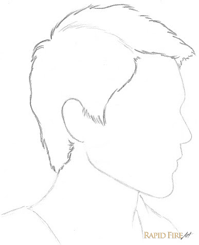 Boy Hair Drawing Side View Kumpulan Soal Pelajaran 5