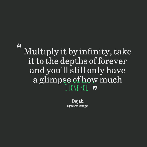 Quotes About Infinity 334 Quotes