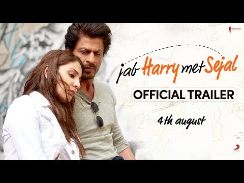 Watch Official Jab harry Met Sejal Movie Trailer Video in Full HD